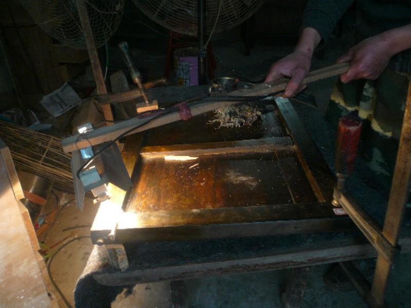 Entretien du mobilier chinois ancien - assemblage