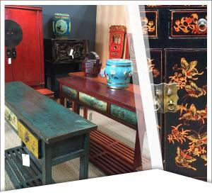 Mobilier chinois ancien - Bureau