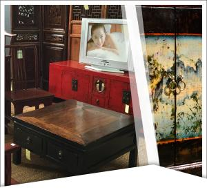 Mobilier chinois ancien - Meuble TV
