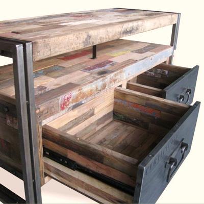 Meubles tv neo pi ces uniques num rot es blog de for Meuble en bois recycle