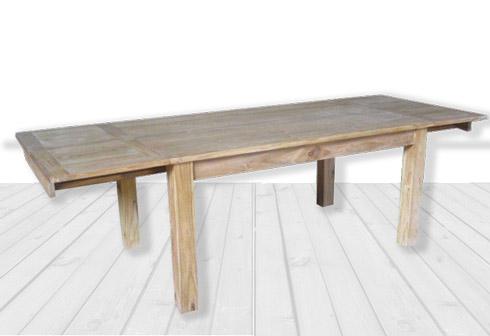 Table de salle manger le teck est il adapt une for Salle a manger table en teck