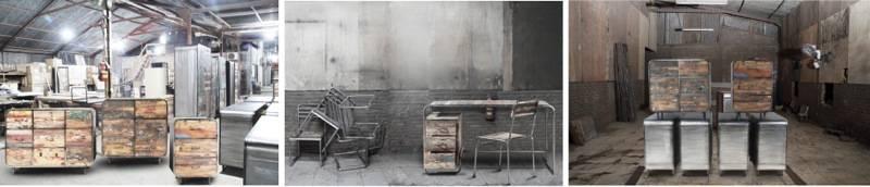 0 vente meubles industriels loft