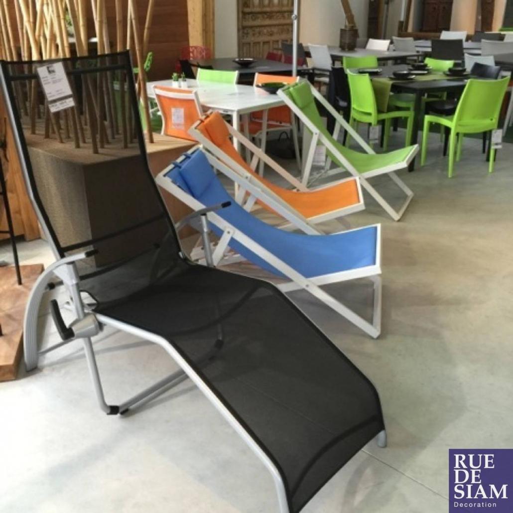 Mobilier de jardin - Un large choix de chaise longue