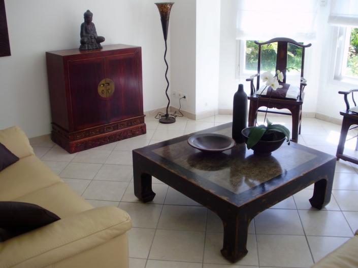 Rue de siam chez vous - Chez Claude à Plougastel-Daoulas (29) - Table basse chinoise ancienne