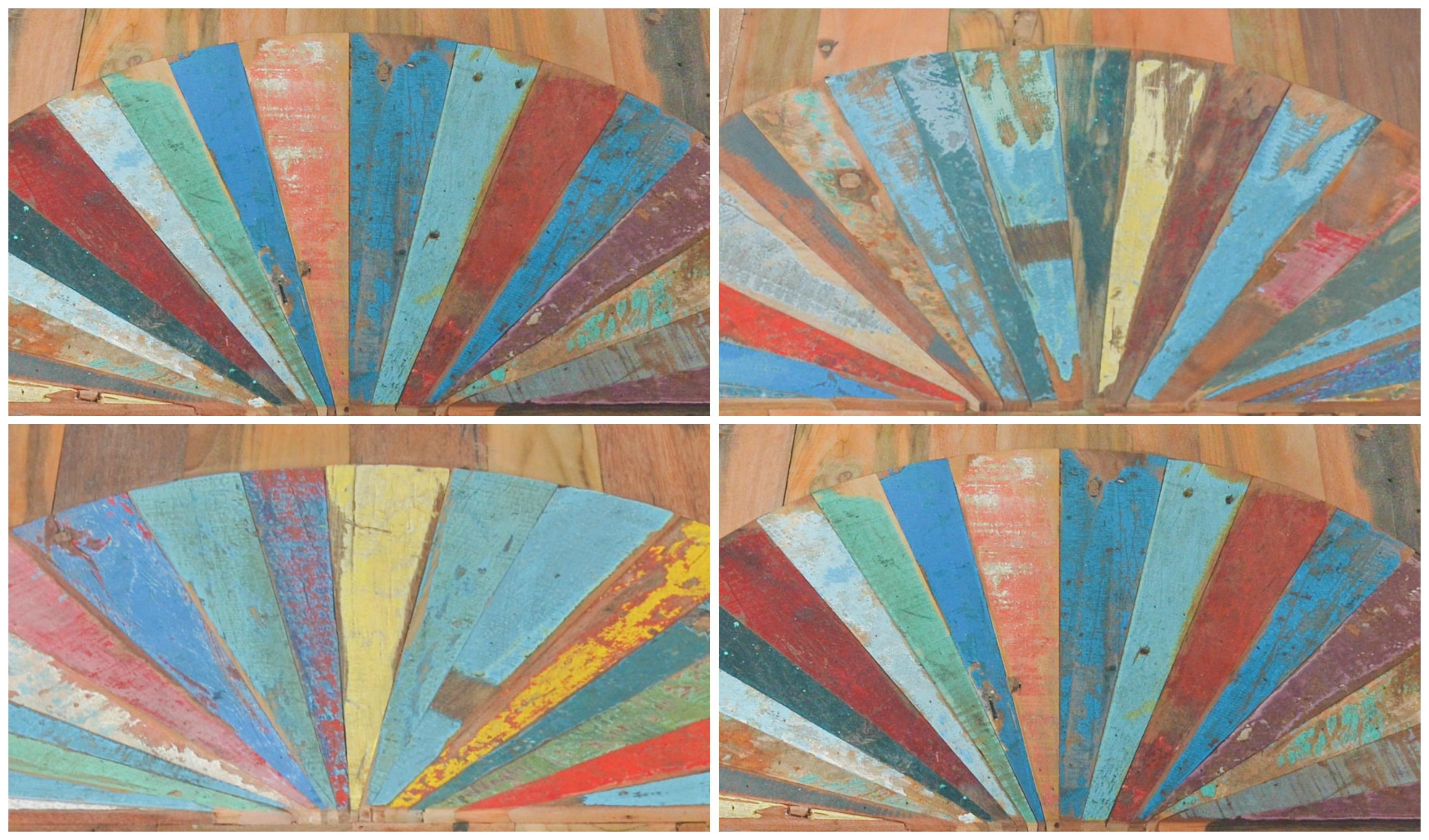 Nouvelle collection OKA - Quatre dessus de table. Quatre tons différents. Quatre pièces sélectionnées et numérotées par Rue de Siam.