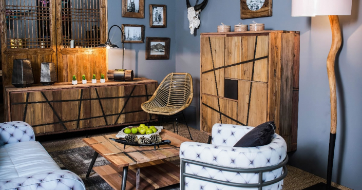 Actualit s du mobilier industriel style loft ruedesiam for Collection meuble industriel