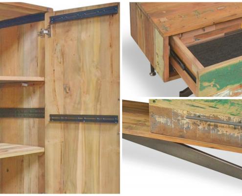 Nouvelle collection OKA - Meubles industriels Global Chic: des meubles sains qui ont une âme.