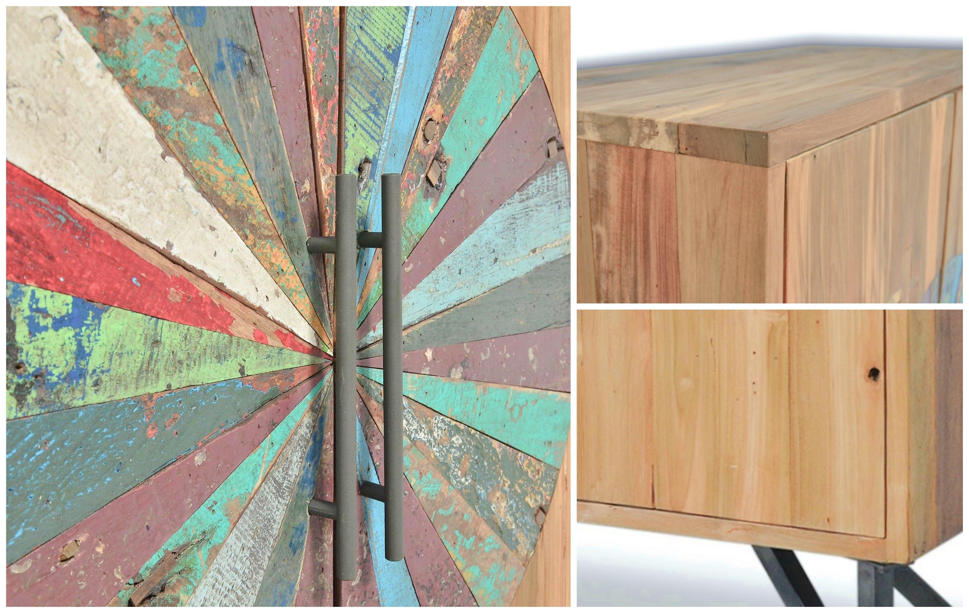 Nouvelle collection OKA - Des meubles loft post-industriels en bois massif naturel.