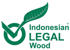 Label de l'Indonesian Legal Wood