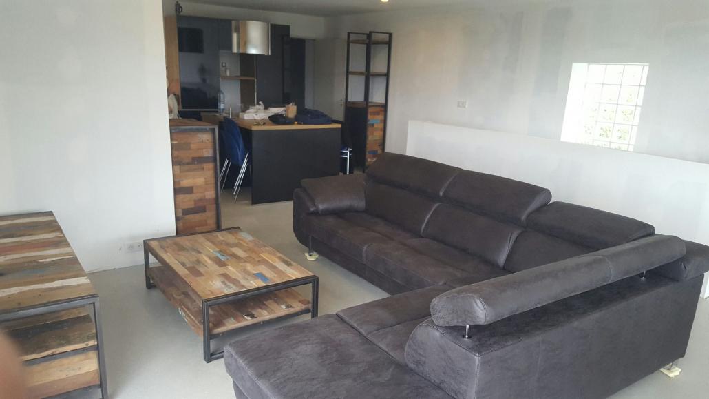 int rieur de style industriel laurent brest 29 rue de siam. Black Bedroom Furniture Sets. Home Design Ideas