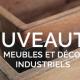 Meubles et déco industriels