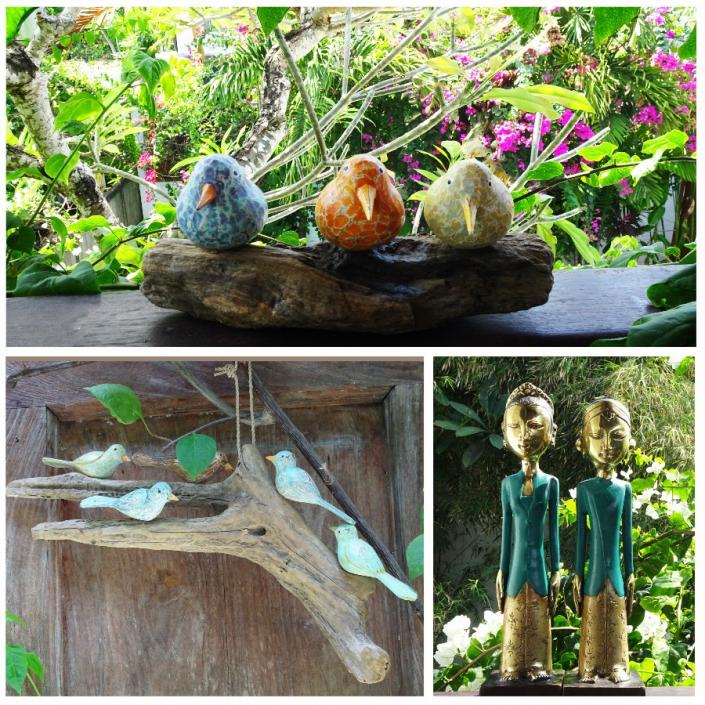 Le soleil vous manque ? Accrochez aux branches de votre sapin ces adorables oiseaux sculptés et peints aux couleurs du printemps.